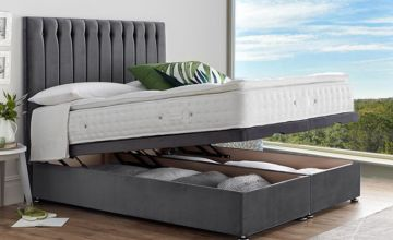From £329 instead of £400 (from Serenity Designs) for an end-lift ottoman divan storage bed, or from £399 for a bed with a pillow-top pocket sprung mattress - choose from five sizes and eight colours and save up to 18%