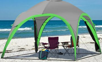 £62 instead of £224.01 (from Costzu) for a water resistant dome tent w/ two removable walls - save 72%