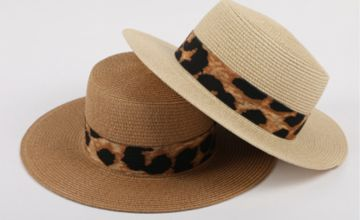 £5 instead of £29.99 (from YelloGoods) for a leopard straw hat – choose from four colours and save 83%