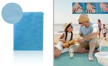 £6.99 instead of £29.99 for a large magic anti-sand beach mat - save 77%
