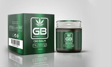 £11.99 instead of £23.05 (from George Botanicals) for a CBD extract body balm - save 48%
