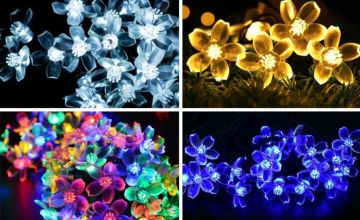 £7.99 instead of £29.99 (from Wow What Who) for a set of 50 LED string lights - choose from eight colours and save 73%