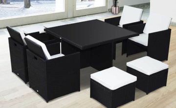 £469 instead £1399 (from mHstar) for a nine-piece rattan cube - save 66%