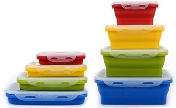 £9.99 instead of £29.99 (from DomoSecret) for a set of four collapsible food containers - save 67%