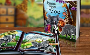 £4.99 instead of £14.99 (from Dinkleboo) for a softback kids' personalised storybook, or £7.99 for a hardback book - choose between boy's and girl's options and save up to 67%