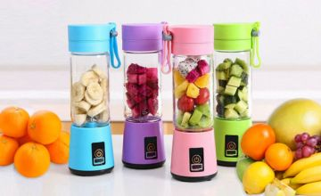 £9.99 instead of £29.99 (from Wow What Who) for a 4-blade portable blender - choose from 4 colours & save 67%