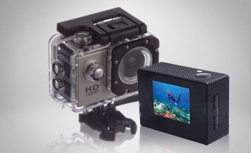 £12 instead of £69.99 (from Object) for a 1080p HD action camera, or £16.99 to include a 16GB SD card - save up to 83%