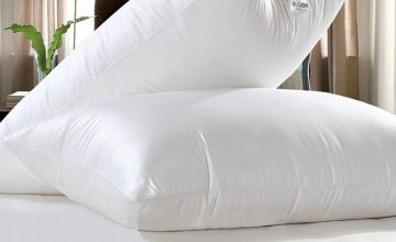 £9.99 instead of £44.99 (from Fusion Online) for two luxury goose feather and down pillows, £17.99 for four pillows, £26.99 for six pillows or £35.99 for eight pillows - save up to 78%