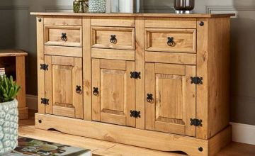From £89 (from Big Furniture Warehouse) for a Corona pine chest of drawers