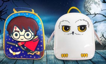 £8.99 (from Linen Ideas) for a 'Quidditch' lunch box, £9.99 for a 'Hedwig the Owl' lunch box!