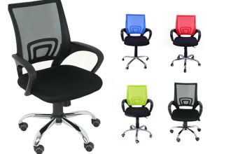 £44.99 instead of £159 for 2 x mesh office chairs from Cosmo Buy Limited - save 72%