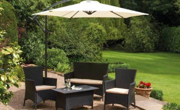 £39 instead of £119.95 (from CJ Offers) for a cantilever parasol, or £49 for a parasol and cover - choose from five colours and save up to 67%