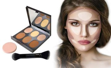 £8 instead of £14.99 (from High Street TV) for a magic mineral contour kit by Jerome Alexander, or £14 for two – save up to 47%