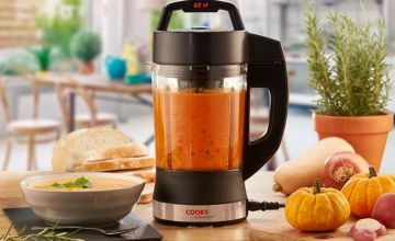 £36.99 instead of £97.95 (from CJ Offers) for a Cooks Professional 1.75-litre soup maker- save 62%