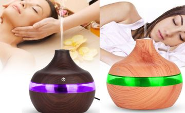 5.99 instead of £59.99 for an aroma essential oil electric humidifier from Domo Secret - save 88%