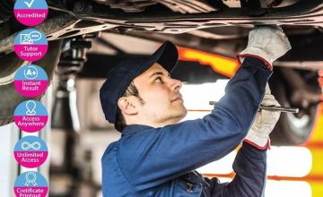 £12 instead of £199 for a car mechanic online course from Alpha Academy - save 94%