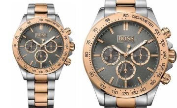 £129 instead of £399 (from Hip Watches) for a Hugo Boss men's Ikon two-tone watch - save 68%