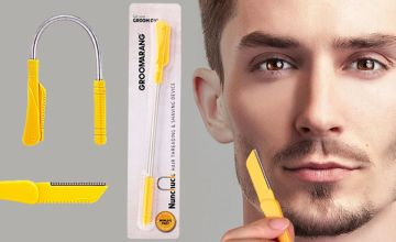 £5 instead of £14.99 for a Men's Groomerang 'nunchuck' threading tool from Forever Cosmetics - save 67%