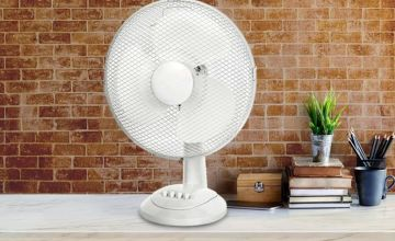 """£12.99 instead of £24 (from Ener-J) for a 12"""" oscillating desk fan - save 46%"""