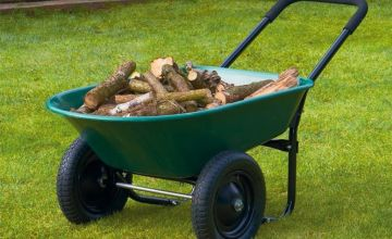 £39.99 instead of £99.95 (from CJ Offers) for a Garden Gear two-wheel wheelbarrow - save 60%