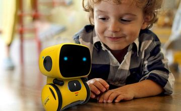 £19.99 instead of £59.99 (from MBLogic) for an interactive smart robot – choose from three colours and save 67%