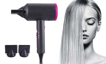 £19.99 instead of £59.99 (from WowWhatWho) for a ultrasonic professional hairdryer - save 67%