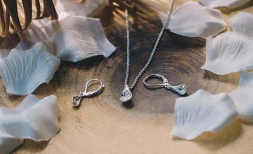 £11.99 instead of £24 (from Philip Jones) for a raindrop jewellery set - save 50%