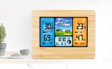 £24.99 instead of £69.99 (from BacktoGoo) for a multi-function weather station with wireless outdoor sensor - save 64%