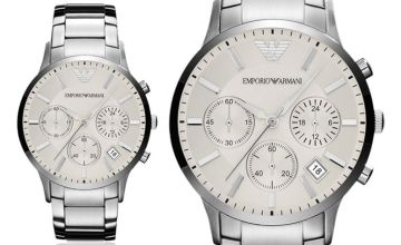 £119 instead of £243 (from Cheap Designer Watches) for an Emporio Armani men's stainless steel chronograph watch - save 51%