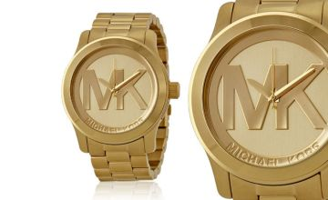 £99 instead of £222.01 (from Cheap Designer Watches) for a ladies' Michael Kors MK5473 runway gold watch - save 56%