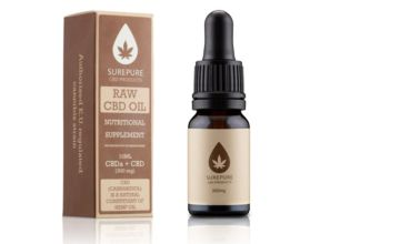 £12.99 instead of £24.99 (from CJ Offers) for a 10ml Surepure CBD oil with 3% CBD extract - save 48%