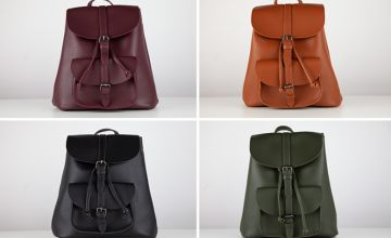 £8.99 instead of £21.98 (from Cascabelle) for a leather-look backpack - save 55%