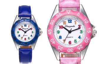 £5 instead of £19.99 (from Yello Goods) for a kid's cartoon watch - choose from four colours - save 74.99%