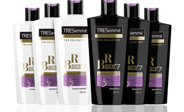 From £11 for a Tresemme Biotin 6 Bundle - 400ml or 700ml! from Avant-Garde Brands Ltd - save up to 69%