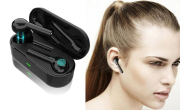 £24.99 instead of £79.99 (from MBLogic) for a pair of Apple compatible Bluetooth 5.0 earbuds - save 69%