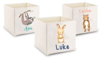 £16 instead of £38.49 (from Your Perfect Canvas) for a kids' personalised storage box - save 58%