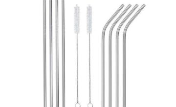 £2.99 instead of £13 (from Vivo Mounts) for one stainless steel reusable straw set, £4.50 for two sets - save up to 77%