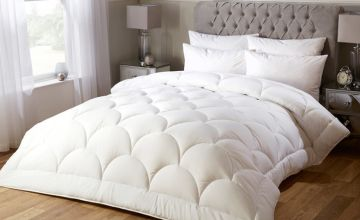From £14.99 instead of £43.99 (from e-Home Store) for a luxurious silk feel 10.5 tog duvet - choose from four sizes and save up to 66%