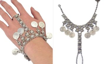 £5.99 instead of £17.99 (from SpeZ Z ee) for a coin tassel bracelet - save 67%