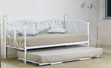 From £115 instead of £459.99 (from UKFurniture4U) for an Olivia daybed with trundle and frame - save up to 75%