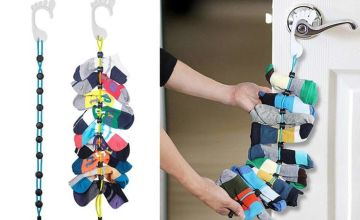 £2.50 instead of £19.99 (from Hey4Beauty) for a sock storage organiser, £4.50 for two –save up to 87%
