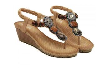 £14.99 instead of £49.99 (from Backtogoo) for a pair of vintage-style jewel sandals – save 70%