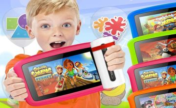 """£39.99 instead of £184.99 (from Inifinity DD Ltd) for a quad core HD 7"""" kids tablet - save 78%"""