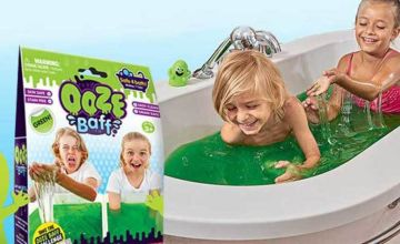 £2.99 (from Zimpli Kids) for a 150g pack of green Slime Baff - make bath time fun!
