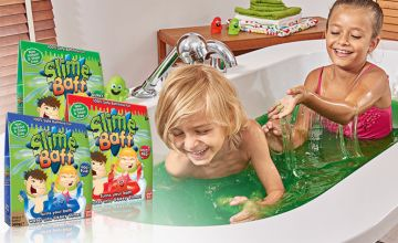 £4.99 instead of £22.09 (from Zimpli Kids) for a 300g twin pack of Slime Baff - make bathtime fun and save 77%