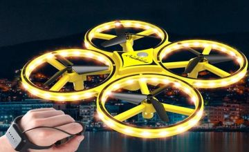 £19 instead of £49.99 (from Wow What Who) for a 6-axis quadcopter hand sensor LED drone - save 62%