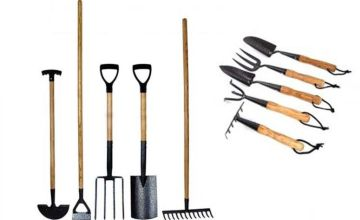£49 (from Anything 4 Home) for a 10-piece carbon steel garden tool set