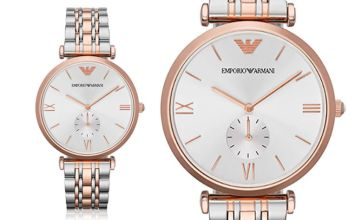 £109 instead of £299 (from Ticara Watches) for a men's Emporio Armani AR1677 two-tone watch - save 64%