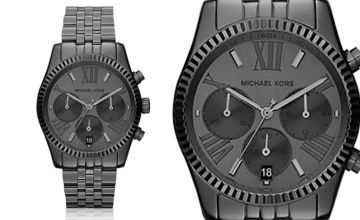 £99 (from Ticara Watches) for a ladies' black Michael Kors MK5709 chronograph watch - Save 57%