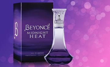 £6.99 instead of £9.08 for a 30ml EDP spray bottle of Beyoncé 'Midnight Heat' or £8.99 for a 100ml bottle - save 23%